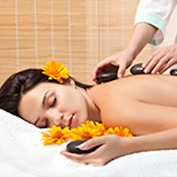 Soothing Effects Hot Stones Massage